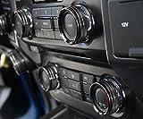 Aluminum Alloy Car Inner Switch Knob Ring Cover