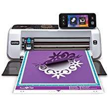 """Brother Electronic Cutting Machine, CM350, ScanNCut2, 4.85"""" LCD Touch Screen, Wireless Network Ready, 300 DPI Built-in Scanner, 631 Built-in Designs"""