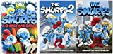 The Smurfs Collection Set 3-Pack DVD Animated Movie 1 & 2 + The Smurfs Christmas Carol Holiday Triple Feature