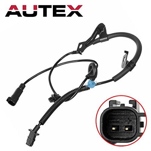 AUTEX 1pc x Right Rear ABS Wheel Speed Sensor 05105064AA 05105064AB ALS2087 SU9947 compatible with Dodge Caliber 2007 2008 4WD/Jeep Compass & Jeep Patriot 2007 2008 2009 2010 2011 2012 2013 2014 4WD