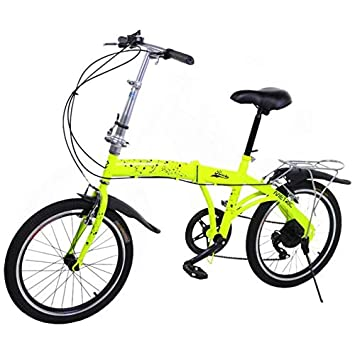 Riscko Metric Bicicleta Plegable Unisex con Ruedas de 20 Color Blanco: Amazon.es: Deportes y aire libre