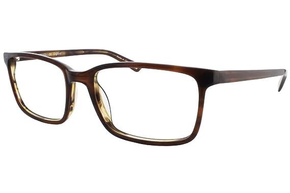 Amazon.com: Austin Reed M02 Mens Eyeglass Frames - Gloss Brown Horn ...