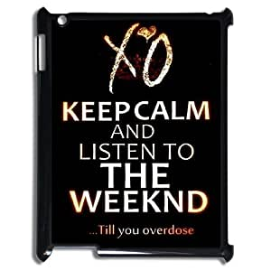 C-EUR Cover Case The Weeknd XO customized Hard Plastic case For IPad 2,3,4