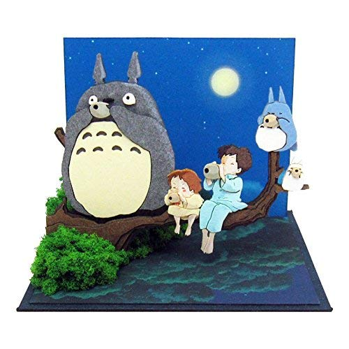 Sankei MP07-89 Studio Ghibli My Neighbor Totoro Tone Ocarina Paper Craft