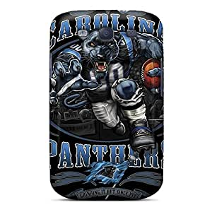 High-quality Durability Case For Galaxy S3(carolina Panthers)