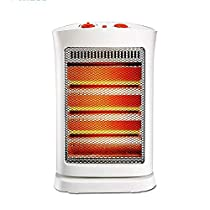 MAZHONG Space Heaters Heater Home Energy Saving Power Saving Shaking Head Timing Dumping Power Failure Protection -1200W