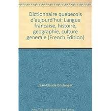 Dictionnaire québécois d'aujourd'hui [ancienne édition]