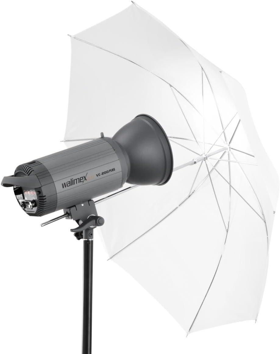 Walimex Pro 2in1 Reflex Durchlichtschirm Weiß 109 Kamera