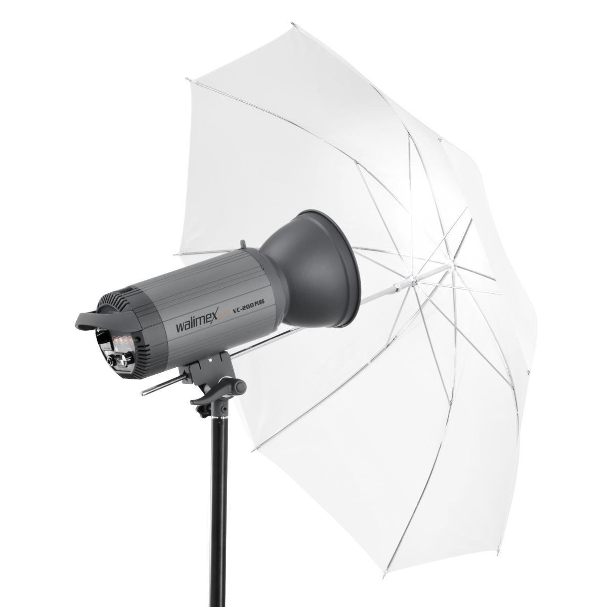 Walimex Pro 2-in-1 reflex//translucent umbrella 109 cm white