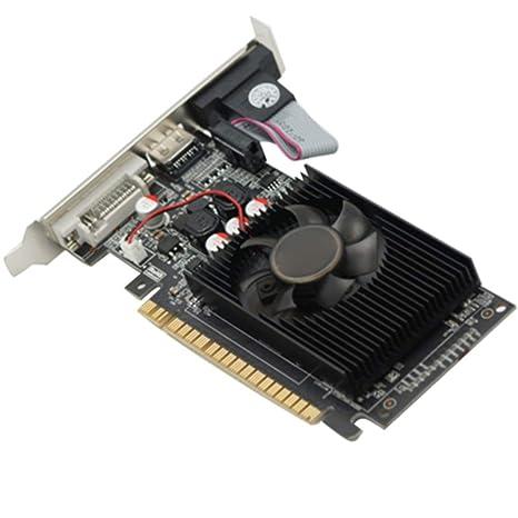 Cicony Tarjeta gráfica GeForce GT730 (DVI-I/HDMI/VGA, 2GB ...