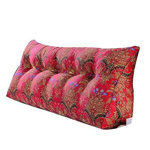 (QFFL Pillow Pillow Cushion backrest with Pillow core (5 Patterns and 1 Size) (Color : C, Size : 602550CM))