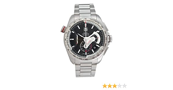 7a92c58603b10 Amazon.com  TAG Heuer Men s CAV5115.BA0902 Grand Carrera Automatic  Chronograph Black Dial Watch  Tag Heuer  Watches