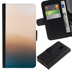 """A-type (Resplandor Rosa"""") Colorida Impresión Funda Cuero Monedero Caja Bolsa Cubierta Caja Piel Card Slots Para Samsung Galaxy S5 V SM-G900"""