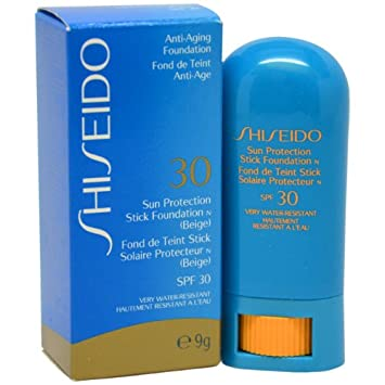 Shiseido Sun Protection Stick Foundation for Unisex SPF 30, Biege, 1 Ounce