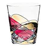ANTONI BARCELONA Drinking Glass 12oz - Unique Drinking Glasses, Drinkware Essentials, Wine Tumbler, Glassware Set of 1 - Gifts Ideas for Family, Grandparents, Men, Grandmother, Love Gifts