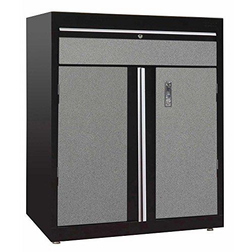 Sandusky Lee GADF301836-M9 Welded Steel Base Cabinet, 1 Drawer, 1 Adjustable Shelf, 200 lb. Per Shelf Capacity, 36