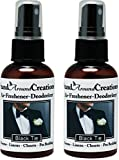 Set of 2 - Concentrated Spray For Room / Linen / Room Deodorizer / Air Freshener - 2 fl oz - Scent - Black Tie