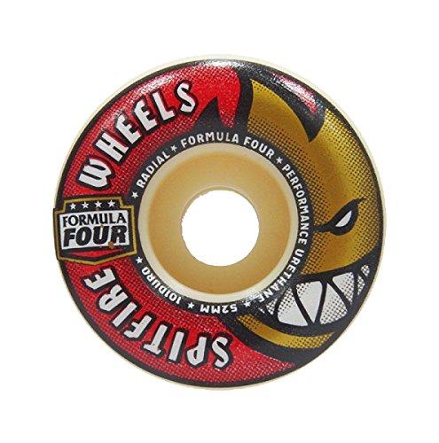 フクロウ誰がまさにスピットファイア (SPITFIRE) F4 101 DURO RADIALS 52mm スケートボード ウィール スケボー
