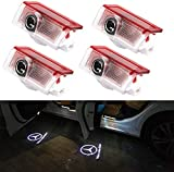 Car Door Logo Lights LED Shadow Projector Ghost Courtesy Welcome light for GLC GLE GLS GLA W212 W166 W176 W205 W246 X164