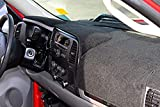 dash cover for gmc truck - Carpet Dashboard Cover - Fits 14-17 Silverado/Sierra 1500, 15-17 2500/3500 - Without Forward Collision Warning