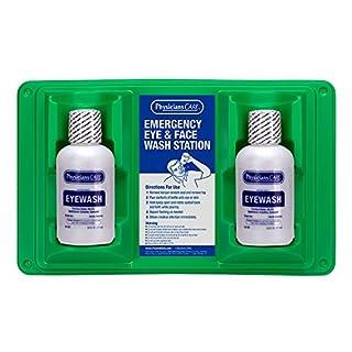 PhysiciansCare 16 oz. Double Bottle Eyewash Station (24-102)