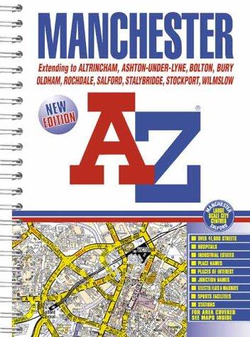 A-Z Manchester Atlas (Street Atlas) Geographers A-Z Map Company