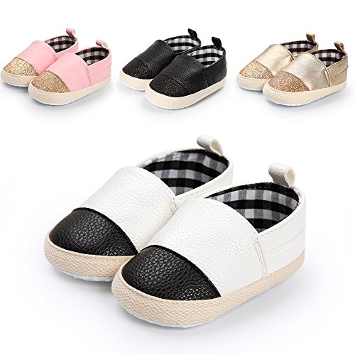Image of Sabe Unisex Baby Boys Girls Moccasins Soft Sole Tassels Prewalker Anti-Slip Loafer Shoes