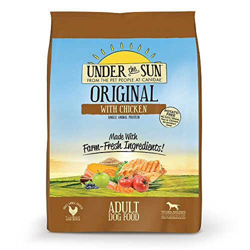 CANIDAE Under the Sun Original Adult Dog Food with Chicken, 25 lbs
