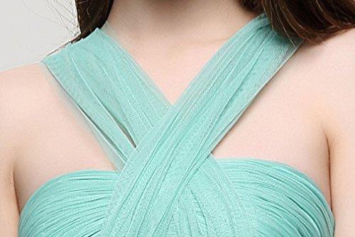 Halfter Linie A Emily Weiß Plissees Ohne Arm Rückenfrei Beauty Abendkleider qE7tf4Bf