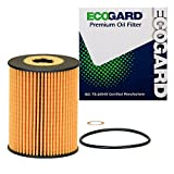 hyundai genesis coupe oil filter - ECOGARD X10430 Cartridge Engine Oil Filter for Conventional Oil - Premium Replacement Fits Hyundai Genesis, Genesis Coupe / Kia Cadenza