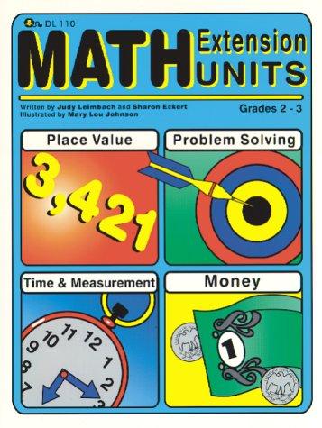 Math Extension Units grades 2-3