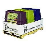 Nvlty 80107.04 Rgk Grdn Kit Color Splash 12ea/12pk, White