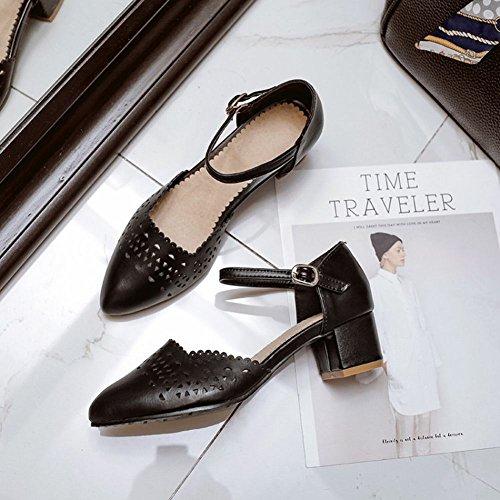 Medio Tacco Dolce Da Shoes Con Mee Scarpe Donna qwP7nYg