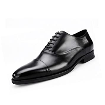 6ad213876e89 Amazon.com: YaXuan Men's Shoes Leather Spring/Fall Comfort/Formal ...
