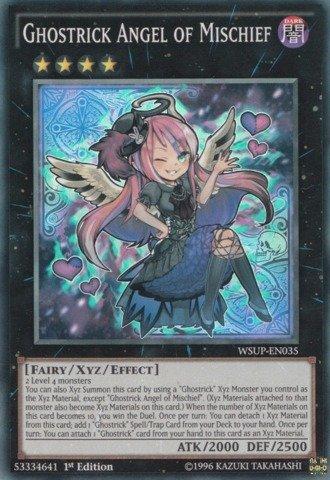 Yu-Gi-Oh! - Ghostrick Angel of Mischief  - World Superstars