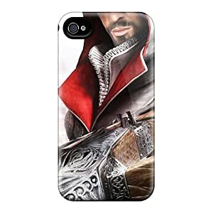 Fashionable FnP2479qxWD Iphone 6 plus Case Cover For Assassins Creed Brotherhood Game Protective Case