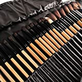 NameStore(TM) 32pcs Professional Soft Cosmetic Eyebrow Eye Shadow Makeup Brush Tool Set