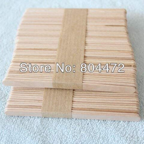 Moonnight Store Ice Cream Stick size 114102 mm 1000 pcs/lot popsicle Stick for DIY ice cream, Wooden sticks for craft purposes by Moonnight Store (Image #4)