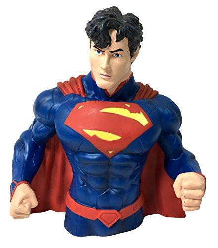 (DC Comics Superman Bust Bank - Superman Coin Bank)