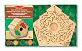 Melissa & Doug 13101 Build-Your-Own Wooden Birdhouse Craft Kit, Multicolour
