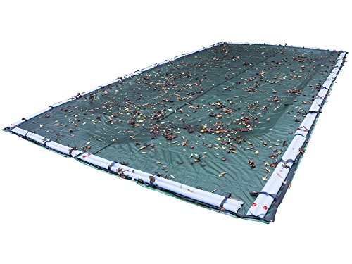 Pool Mate 453050R-PM Premium in-Ground Leaf Net, 30 x 50-ft. Pool, Black
