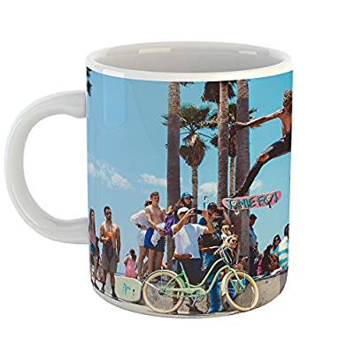 Westlake Photography - Coffee Cup Mug - Venice Water - Modern Picture Photography Artwork Home Office Birthday Gift - 11oz (69m 460)