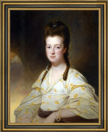 George Romney Portrait of a Lady Dorothy Cavendish Wife of William Cavendish Bentinck 3rd Duke of Portland - 16.05