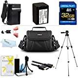 32GB Accessory Kit For Sony HDR-CX290, HDR-CX290/B, FDR-AX100, HDR-CX900 HD Camcorder Includes 32GB High Speed SD Memory Card + Replacement (2300Mah) NP-FV70 Battery + Ac / DC Charger + Deluxe Case + 50 Tripod + Micro HDMI Cable + USB 2.0 Reader + More