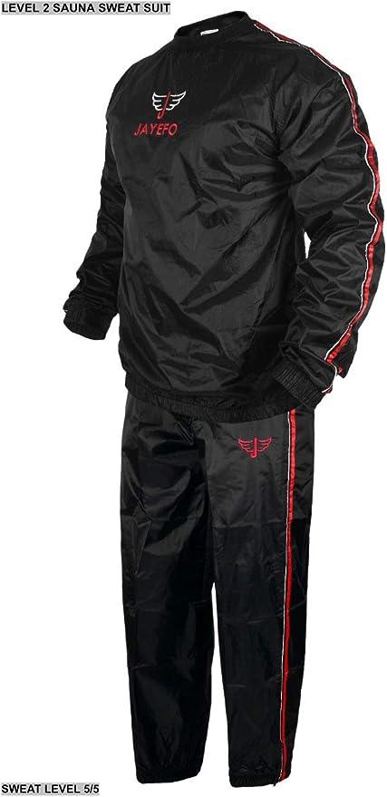 Unisex for Men /& Women Exercise Sauna Suit Sauna Suit Large Size