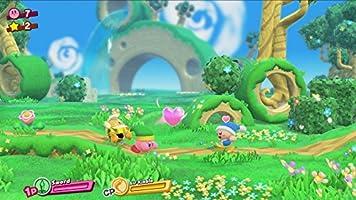 Nintendo Switch - Consola color Azul Neón/Rojo Neón + Kirby Star ...