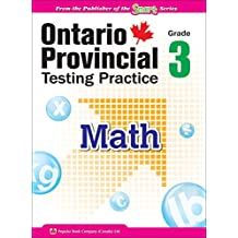Ontario Provincial Testing Practice - Math 3: EQAO practice materials and test-taking tips for Grade 3