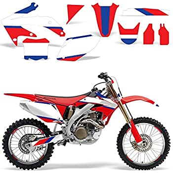 Acerbis Front Number Plate White Fits Honda CRF250R 2010-2013