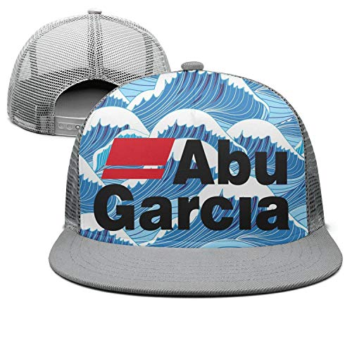 Street Dancing Fishing-ABU-Garcia-Logo-Adjustable Mesh Grey Unisex Visor Hats Caps