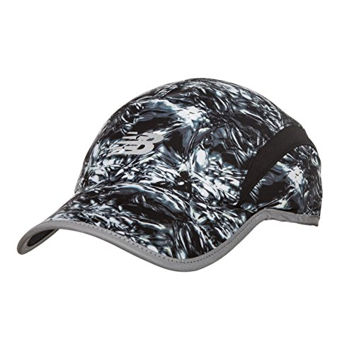 New Balance 5 Panel Performance Hat, Thermal Wrapping Print, One Size